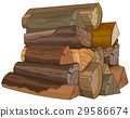 The Logs of Fire Wood 29586674