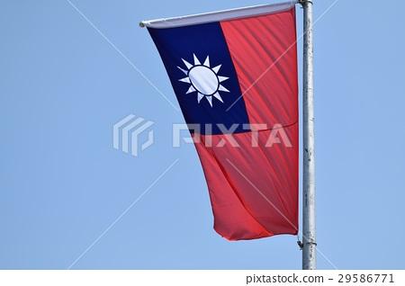 藍天白色滿旗紅旗(中華民國國旗) 29586771