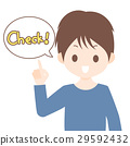 Men pointing at fingers and saying check Material illustration material White background · Vector · Transparent png 29592432