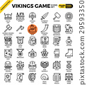 Fancy vikings game icons 29593350