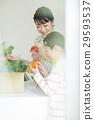 부모와 자식, 부모자식, 야채 29593537