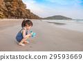 海灘 女孩 少女 29593669