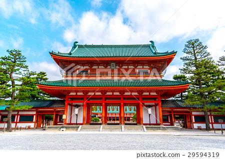 京都平安神宮的Kento門 29594319