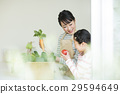 Parent and child vegetables 29594649