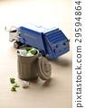 miniature, recycle bin, waste bin 29594864