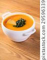 汤 胡萝卜 食物 29596339