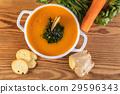 汤 胡萝卜 食物 29596343