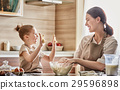 Homemade food and little helper. 29596898