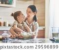 Homemade food and little helper. 29596899