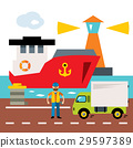 港口 海 海運 29597389