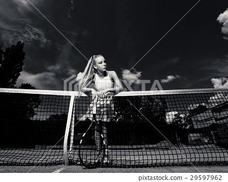 Sporty woman 29597962