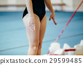 female gymnast uneven bars 29599485