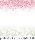 벚꽃 배경 무늬 29603138