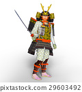 samurai, japanese warrior, military commander 29603492