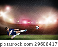 Young soccer player 29608417