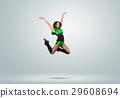 Cheerleader girl 29608694