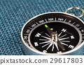 Perspective view of Magnetic Compass. 29617803