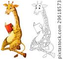 动物 涂鸦 起草 29618573