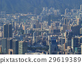 Residential building vew from the peak 29619389