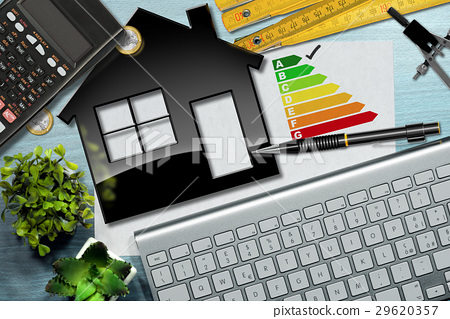 Energy Efficiency Rating with House Model 29620357