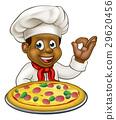chef black pizza 29620456
