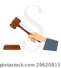 hammer, judge, hand 29620813