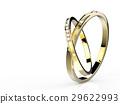 golden wedding rings 29622993