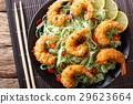 pasta, shrimp, cuisine 29623664