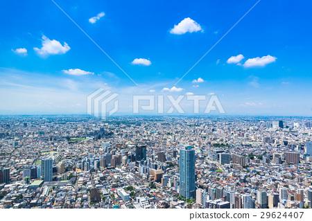 东京都市政府的东京城市景观 29624407