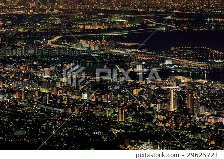 46a01ef7afe Night view from Kobe Mayayama Scuperobashi - Three major night view in  Japan -