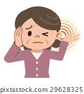 tinnitus, vector, vectors 29628325