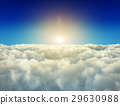 구름, 태양, 해 29630988