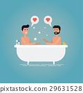 洗澡 浴室 夫婦 29631528