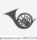 Musical Instrument Horn, which is Used in Symphony 29631579