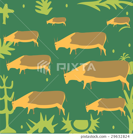 Cows in the meadow 29632824