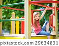 playground, play, girl 29634831