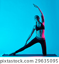 Yoga, Woman, parighasana 29635095