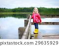 rain smiling girl 29635929