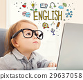 English concept with toddler girl 29637058