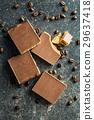 Sweet caramel dessert. 29637418