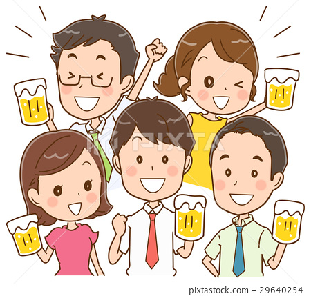 เบียร์,พบปะเพื่อดื่ม,ชนแก้ว 29640254