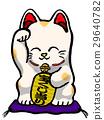 招財貓 玩偶 貓 29640782