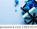 青いプレゼントのイメージ 29641010