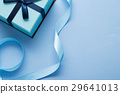 青いプレゼントのイメージ 29641013