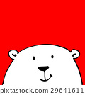 White bear, sketch for your design 29641611