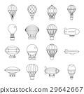 氣球 飛機 ICON 29642667