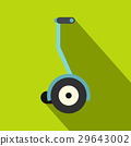 Segway icon, flat style 29643002