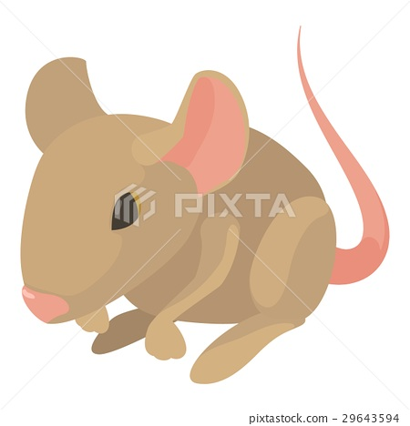 Rat icon, cartoon style 29643594