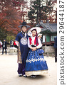 Go out with Korean traditional clothes 'Hanbok' 227 29644187