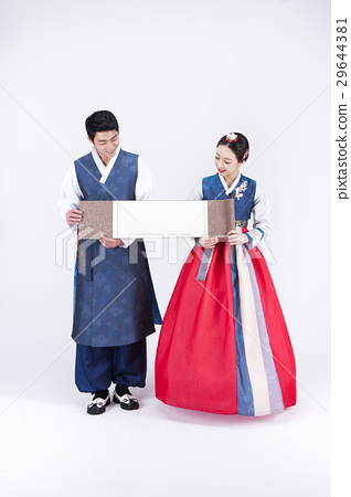 Go out with Korean traditional clothes 'Hanbok' 122 29644381